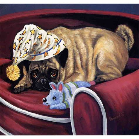 pug flag shop precious pet paintings 1 5 ft x 1 04 ft pug flag at lowes