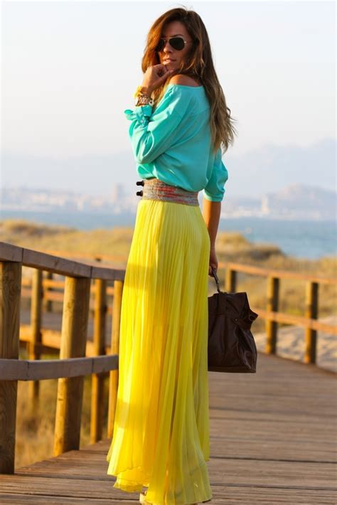 how to wear a chiffon maxi skirt by 3 ways to wear