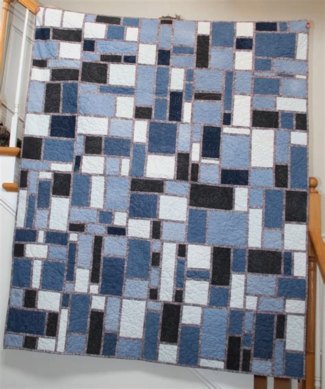 Blue Jean Quilts by Seattle Streets Pattern Blue Jean Quilt Quilts