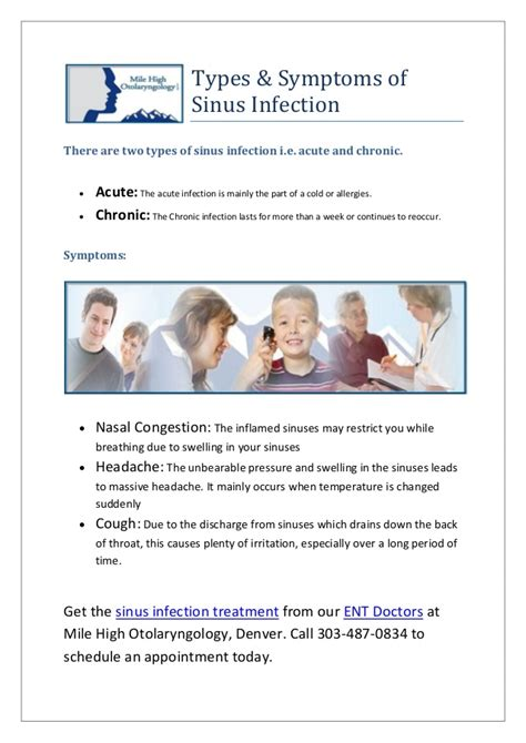 Sinus Efection Detox Symtom by Get Sinus Infection Treatment From Our Ent Doctors