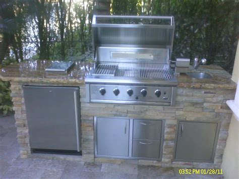 custom backyard bbq grills custom outdoor kitchen with built in bbq grill by outdoor cooking industries gas