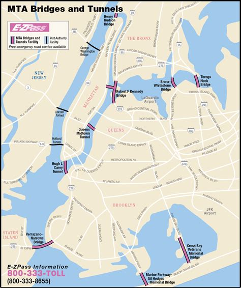 map of new york city tunnels why putting tolls on the east river bridges can be a