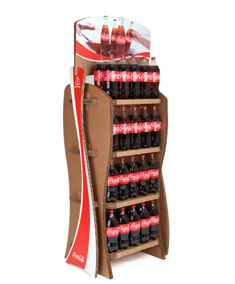 Soda Rack by Coca Cola Plant Bottle And Give It Back Racks