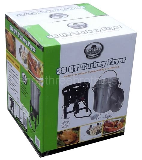 new 36 quart outdoor turkey fryer steamer food