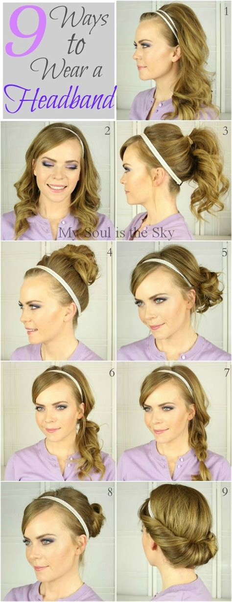 fashion and tips 9 ways to wear a headband
