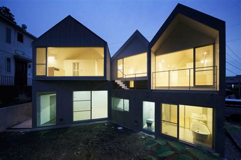 designboom apartment k2yt aligns gabled zushi apartment complex in kanagawa
