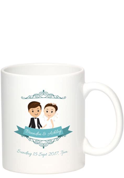 Wedding Favors Mugs by Personalized Wedding Favors Discountmugs