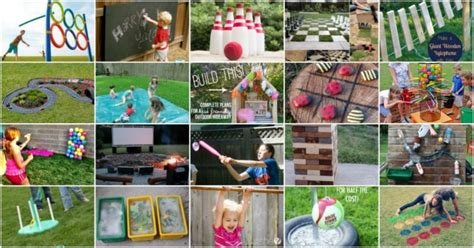 35 diy backyard kids games that will make your summer