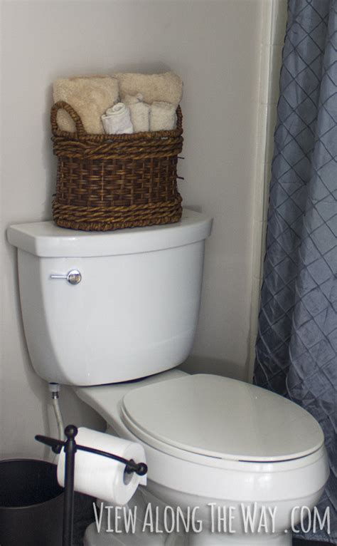 towel basket for bathroom 5 easy steps to a luxury guest bathroom on a budget