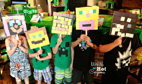 minecraft craft ideas for great ideas for a minecraft birthday momof6