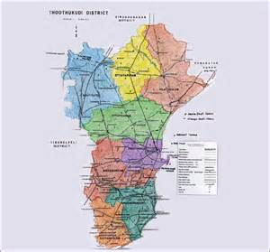 district map district map
