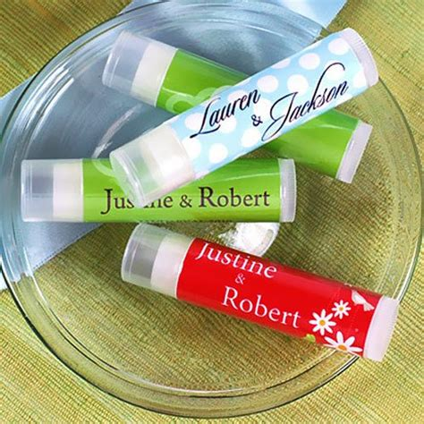 wedding favors lip balm personalized lip balm wedding favors