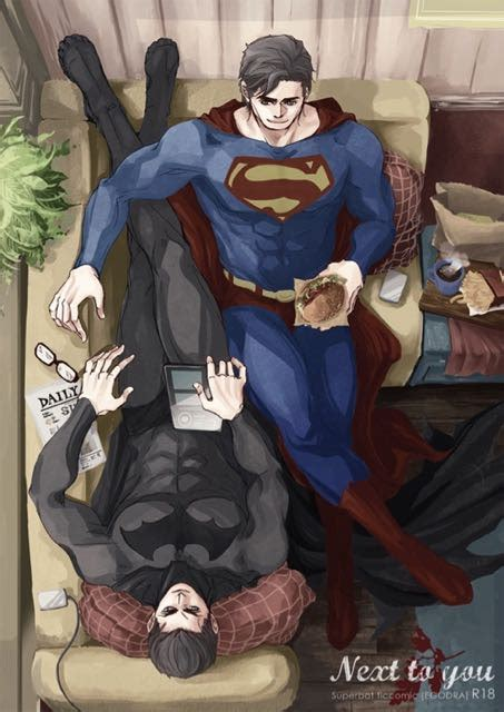 superman on the couch l astronave couples on the couch iv superbat