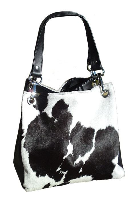camilla black white cowhide bag - Black And White Cowhide Handbags