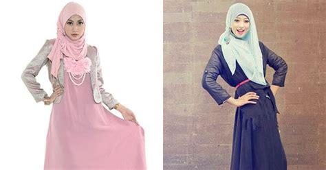 Dress Wanita Sw Dress Amerah D Pink Pashmina cara pakai jilbab gaya di bulan ramadhan