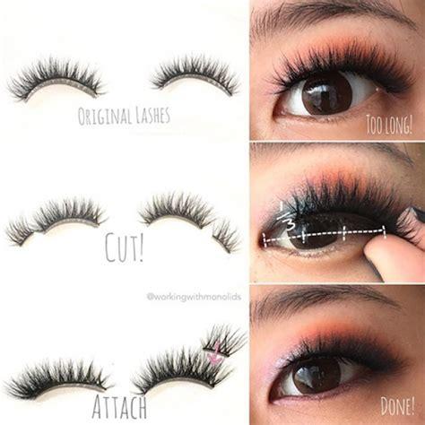 Bulumata Palsu A16 wow cara memakai bulu mata palsu yang satu ini sangat tepat untuk mata kecil kawaii japan