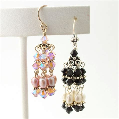 bead earrings how to make lush beading classes