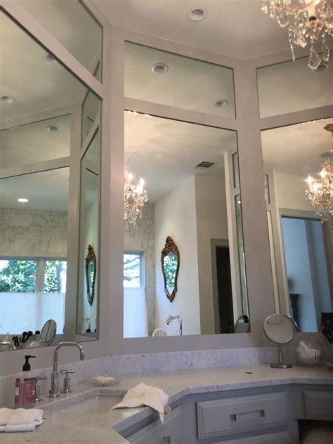 3 way bathroom mirror frameless mirrors residential gallery anchor ventana