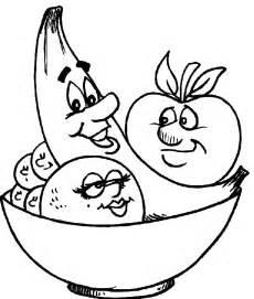 imagenes de frutas para colorear free lechuga para colorear coloring pages