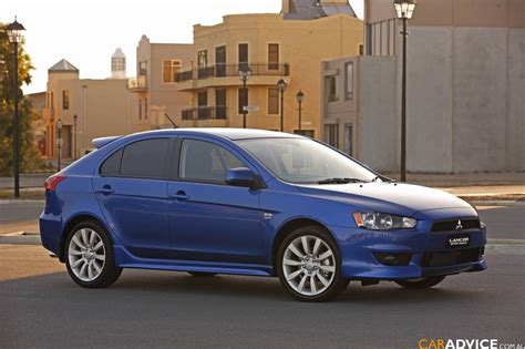 mitsubishi cars 2009 2009 mitsubishi lancer sportback first steer photos 1