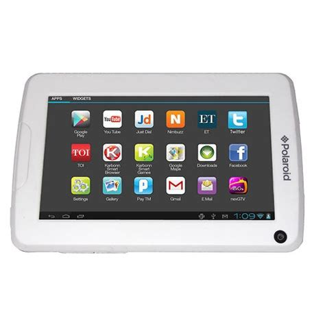 polaroid android tablet polaroid 4 3 quot tablet w android 4 0 wifi 4gb capacitive