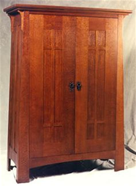 Mission Style Wardrobe by Harris Lebus Oak Wardrobe Circa 1900 The