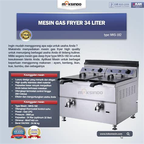 Jual Thermometer Fryer jual mesin gas fryer mks 182 di malang toko mesin