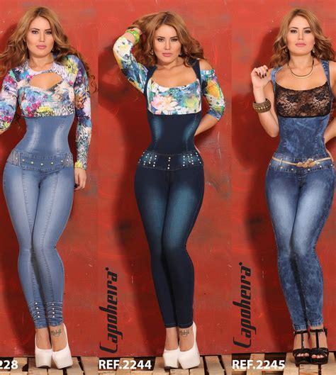moda de jeans de damas 2016 enterizo jean capohera youtube