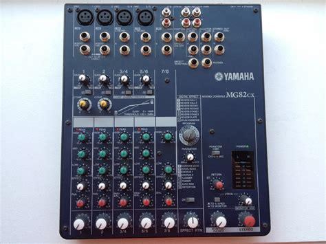 Second Mixer Yamaha Mg82cx photo yamaha mg82cx yamaha mg82cx 68962 640372