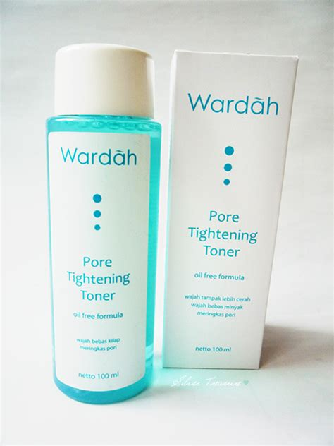 Toner Dan Cleanser Wardah wardah pore tightening toner silver treasure on