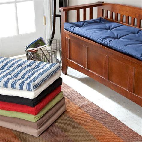 hunter storage bench deauville 45 x 16 storage bench cushion bench cushions storage benches and cushions