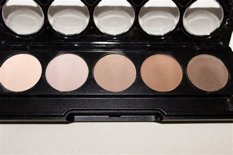 Makeup Flormar flormar color palette eyeshadows review