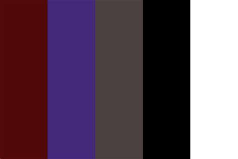 zodiac scorpio color palette
