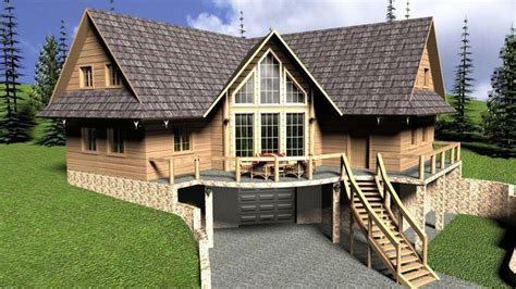 log home floor plans with garage 2018 log house with garage 3d cgtrader