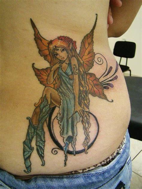 tattoo your back like a jersey fairy lower back tattoo tattoos i like pinterest
