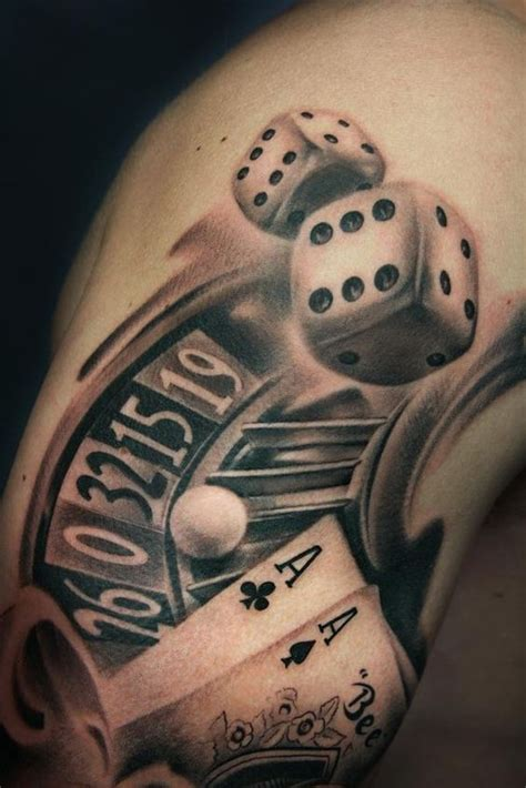 16 gambling tattoos on sleeve
