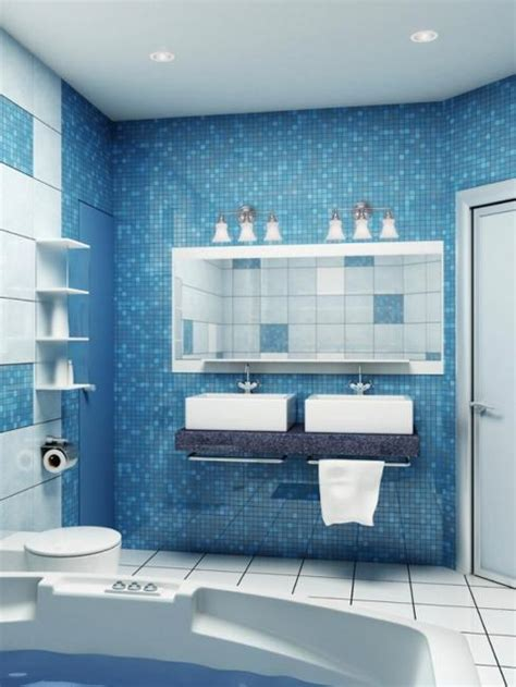 modern bathroom decor ideas blue bathroom colors