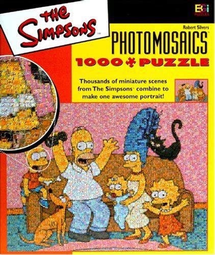 The Simpsons 01 Raglan simpsons photomosaic family jigsaw puzzle 1026pc