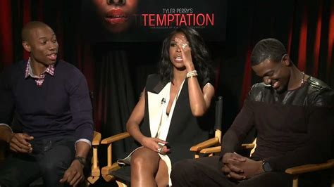 michael k williams and tupac brandy lance gross robbie jones talk temptation