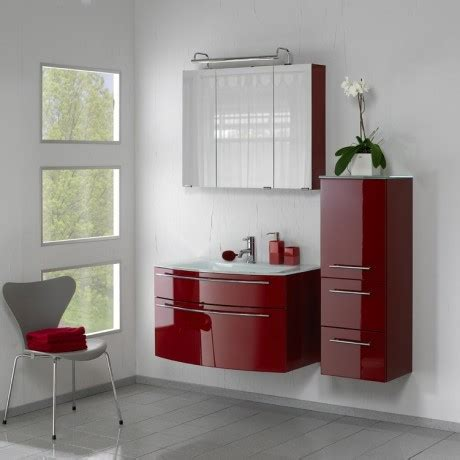 red bathroom suite pelipal bathroom furniture roulette 900mm gloss red vanity