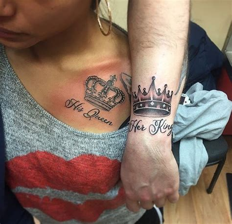 his and her matching tattoos ideas pictures to pin on