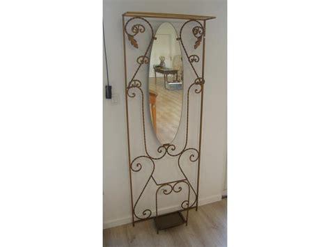 Porte Manteau Fer Forgé 14 by Porte Manteau En Fer Forg 233 Dor 233 Avec Miroir Ovale