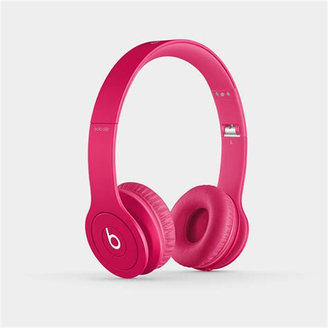 Headphone Beats Pink beats hd on ear headphone discontinued by manufacturer pink electronics