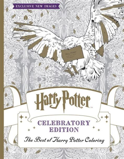 harry potter coloring books barnes and noble the best of harry potter coloring book celebratory