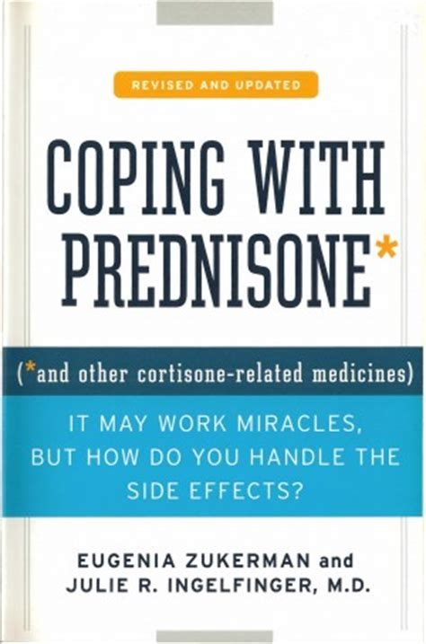 prednisone mood swings coping with prednisone book eugenia zukerman