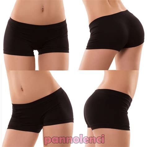 Donna Shorts pantaloncini donna culotte shorts intimo fitness sport