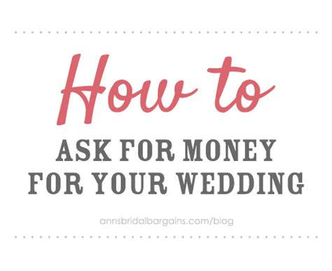 Wedding Registry House Fund by How To Ask For Money For Your Wedding