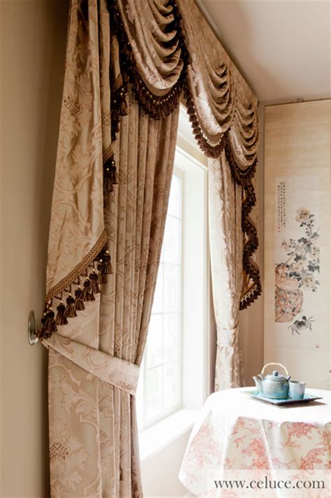 swag curtains for bedroom valance curtains with swags and tails by celuce com