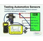 MAP Sensor &amp Wiring Diagram  FORD EXPLORER 1998 / CAR
