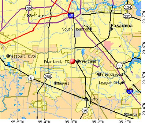 pearland texas map pearland texas tx 77584 profile population maps real estate averages homes statistics